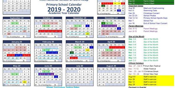 Calendar 2019 PS 03
