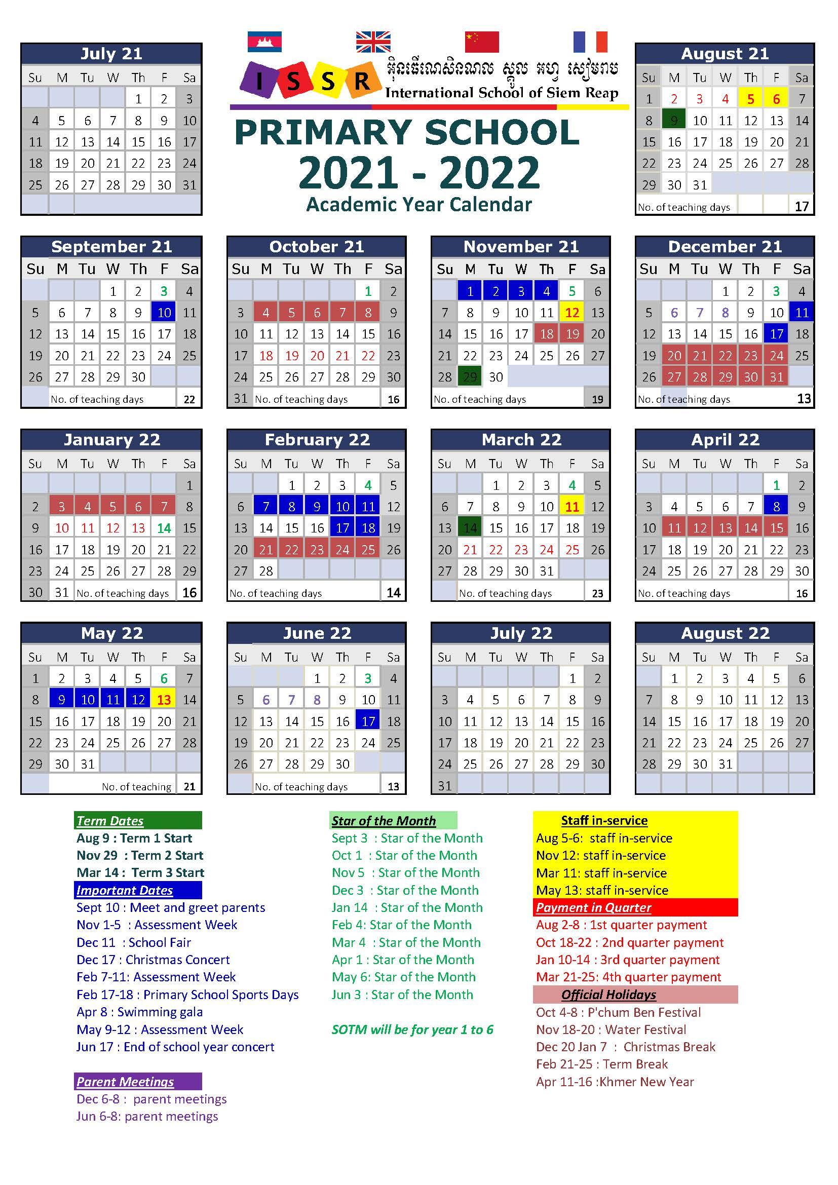 PS-Calendar in 2021-2022_update on 05-Jun-2021